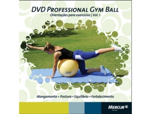 DVD Professional Gym Ball Mercur