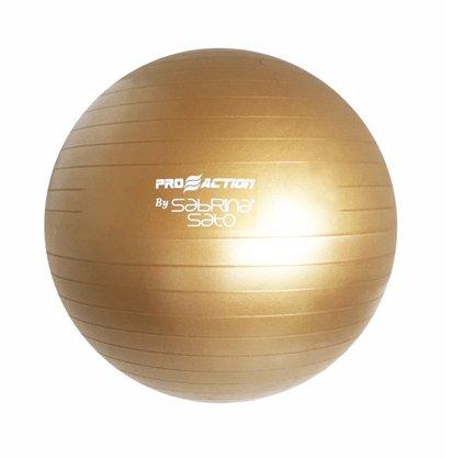 Gym Ball 55cm Dourada BY SABRINA SATO - ProAction