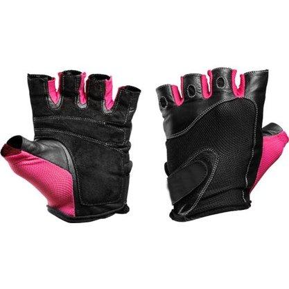 Luva de Musculação Preta/Pink - M - ProAction