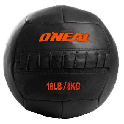 Wall Ball 8kg / 18 Libras Bola de Couro para Crossfit e Treinamento Funcional -Oneal