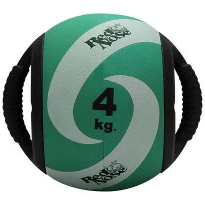Medicine Ball com Alça 4kg - Red Nose