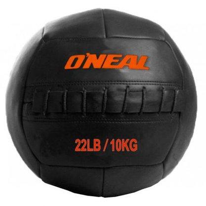 Wall Ball 10kg / 22 Libras Bola de Couro para Crossfit e Treinamento Funcional -Oneal