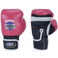 Luva de Boxe Amador Rosa 10 oz - Punch