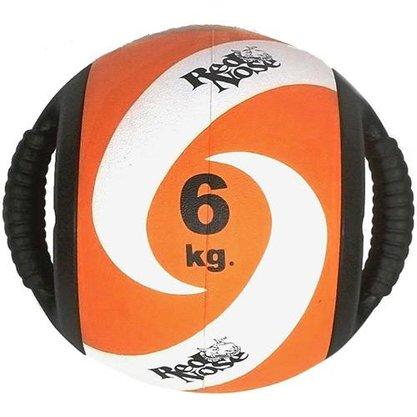 Medicine Ball com Alça 6kg - Red Nose