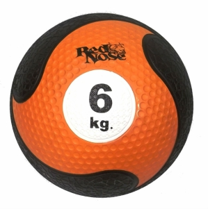 Medicine Ball Red Nose 6kg