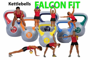 Kit Kettlebells Falcon Fit