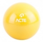 Bola Tonificadora com Peso - 2kg Amarela - Acte Sports