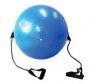 Gym Ball com Extensor 65cm - Falcon Fit