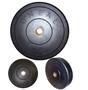 Anilha Borracha para Crossfit e Levantamento - Furo Olímpico 5kg - Oneal