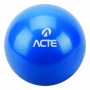 Bola Tonificadora com Peso - 3kg Azul - Acte Sports