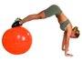 Gym Ball c/ Bomba de Ar 45cm Laranja - Acte