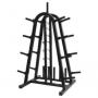 Expositor 3 em 1 (barra, anilha e halter) Polimet