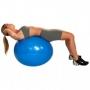 Gym Ball c/ Bomba de Ar 65cm Azul - Acte
