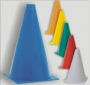 Cone Plástico para Demarcação 23cm
